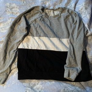 Forever 21 Color Block Sweatshirt